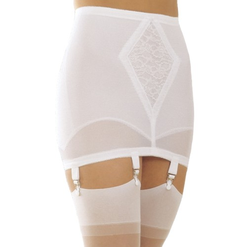 Rago Silky Smooth Open Bottom Girdle
