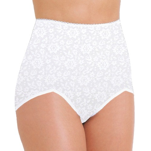 Rago V Leg Panty Brief Extra Firm Shaping White Front