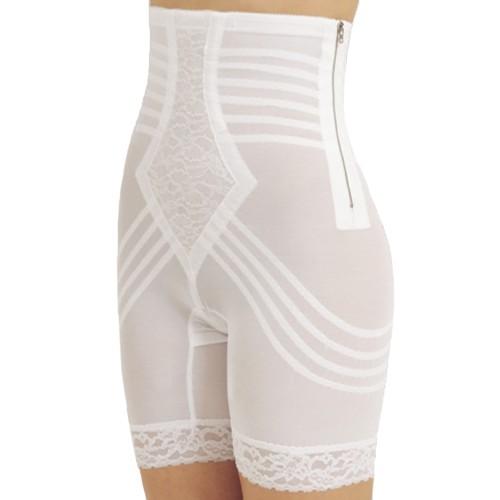 Rago Metal Zippered High-Waist Long Leg Pantie Girdle