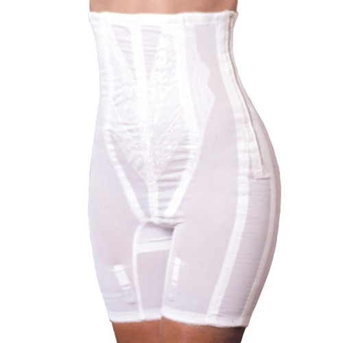 Rago Back Support High-Waist Long Leg Pantie Girdle