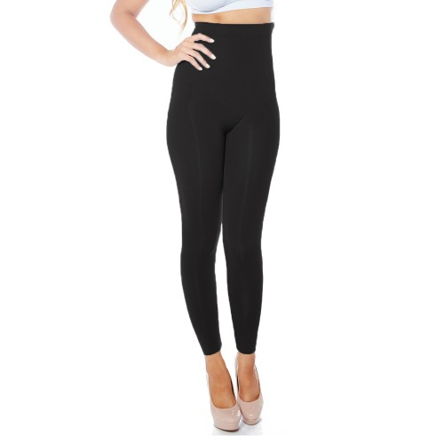 Rhonda Shear Ahh Sweet Tootsie High Waist Shaping Legging Style 1386