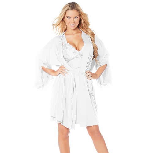 Rhonda Shear Sweet Nothings Short Kimono Style 6728