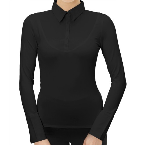 SkinnyShirt Long Sleeve Classic Collar Style CLCOT300