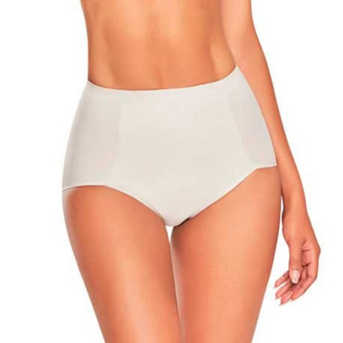 TrueShapers High Waist Butt Lift Control Panty Nude Front