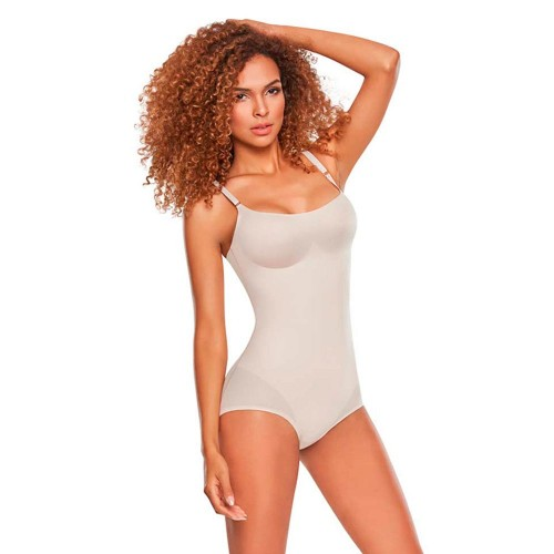 TrueShapers Invisible Look Bodysuit Nude Front
