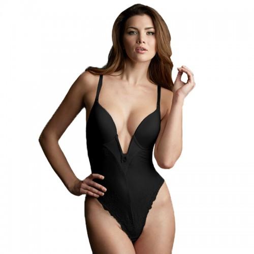 Va Bien Marquise Low Plunge Bodysuit Style 2525