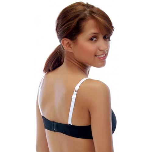 Lauren Silva White Sequins Bra Straps Style 53028