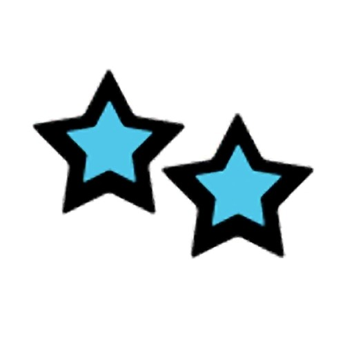 Pastease Rockstar Star Nipple Pasties