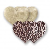 Bristols 6 Nippies Domenico Heart Nipple Pasties