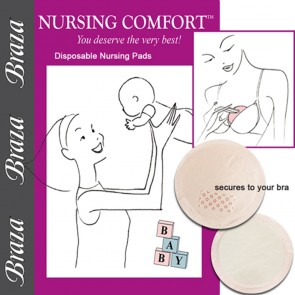 Braza Nursing Comfort Disposable Nursing Pads Package 1