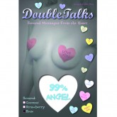 Bring It Up DoubleTalks 99% ANGEL Heart Shaped Scented Nipple Covers