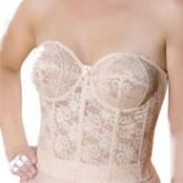 Elila Lace Strapless Longline Bra Style 6620