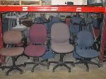 Lot: F11.General - (20) CHAIRS, STANDS, SHREDDER, FLUORESCENT LIGHTS