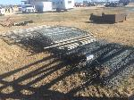 Lot: 10 - 6-ft Chain link & Gates