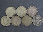 Lot: 2338 - (7) 1922-1926 PEACE DOLLARS