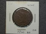 Lot: 2347 - 1840 LARGE CENT