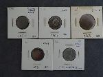 Lot: 2348 - FLYING EAGLE, INDIAN HEAD CENTS & TWO CENT