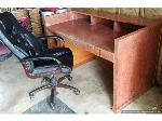 Lot: 066 - Large Reception Desk with Chair