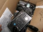 Lot: H16.BROWNSVILLE - (APPROX 15 ITEMS) PHONES & EQUIPMENT
