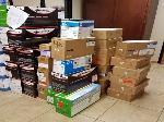 Lot: T05.BROWNSVILLE - (11 APPROX) PRINTERS & TONER CARTRIDGES