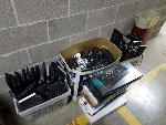 Lot: T07.BROWNSVILLE - KEYBOARDS, MOUSE DEVICE & TRASHCANS
