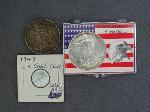 Lot: 2382 - 1922 PEACE & 1995 AMERICAN EAGLE DOLLARS