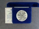 Lot: 2390 - SILVER 2ND INAUGURATION PRESIDENTIAL MEDAL