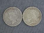 Lot: 2399 - 1922 7 1926-S PEACE DOLLARS