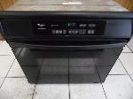 Lot: A5506 - Working Whirlpool 30in Black Built In Oven