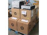 Lot: 696 - (6) HP Printers & (6) Paper Trays