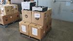 Lot: 698 - (6) HP Printers & (6) Paper Trays
