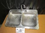 Lot: 30-058 - Sink & Faucet Assembly