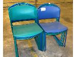 Lot: 02-18512 - (9) Stackable Chairs