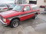 Lot: B503086 - 1989 Chevrolet S10 Blazer SUV