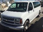 Lot: 132.HOUSTON - 1999 CHEVROLET EXPRESS CARGO VAN