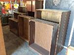Lot: 3.FORTWORTH - (7) WOOD BOOKCASES & CREDENZA