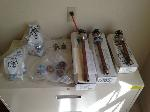 Lot: 30 - Plumbing Parts: Stopper Hollows, Overflow Kit