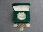 Lot: 2403 - 1989 SILVER EAGLE & 1924-1930 BUFFALO NICKELS