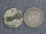 Lot: 2410 - 1900-O & 1901-O MORGAN DOLLARS