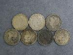 Lot: 2430 - (7) 1887-1921 MORGAN DOLLARS
