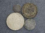 Lot: 2435 - 1856 SEATED LIBERTY DIME & 1921 MORGAN DOLLAR