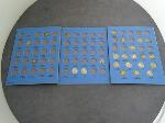 Lot: 2440 - MERCURY DIME BLUE BOOK COLLECTION