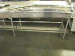 Lot: 5169 - (2) STAINLESS STEEL TABLES
