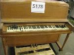 Lot: 5178 - WURLITZER AND YAMAHA PIANO