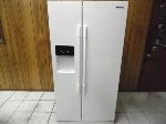 Lot: A5542 - Working Samsung Side By Side Refrigerator