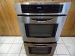 """Lot: A5545 - Working Jenn-Air 27"""" Stainless Double Oven"""