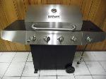 Lot: A5546 - Master Forge Stainless Steel Gas Grill
