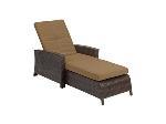 Lot: A5549 - Like New Barrington Wicker Lounge Chair