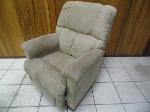 Lot: A5553 - Lazyboy Tan Suede Recliner
