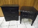 Lot: A5566 - End Table Cabinet Set
